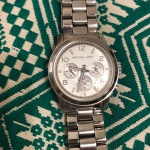 Michael Kors Silver Link Watch